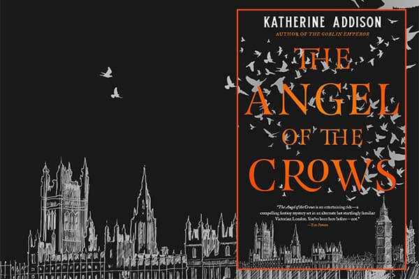 The Angel of Crows cover