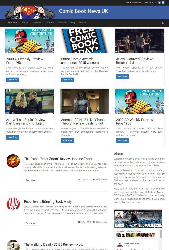 Comic Book News