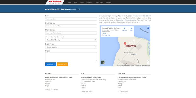 KPM Contact Page