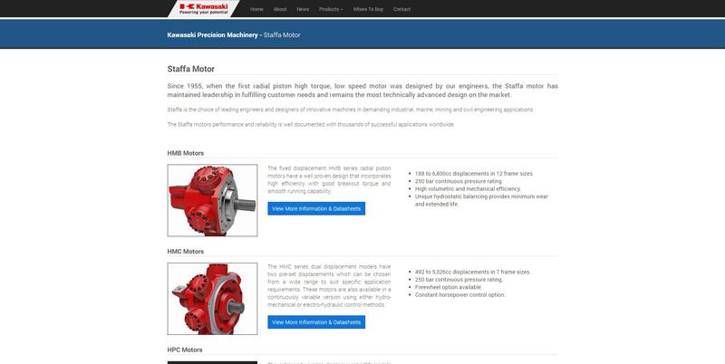 KPM Staffa Product Page