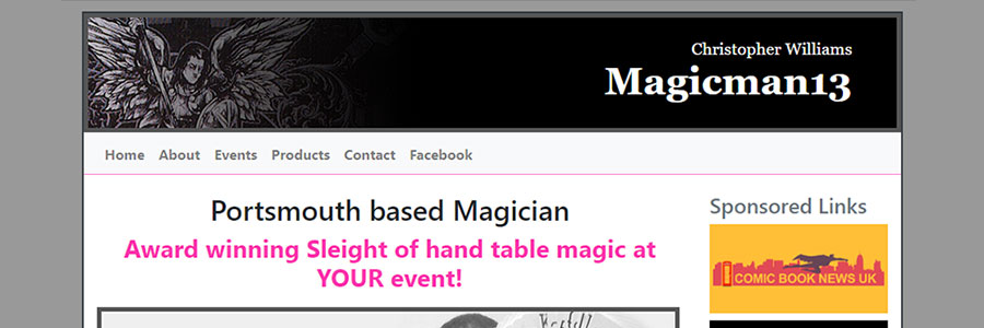 MagicMan13 brought up to date